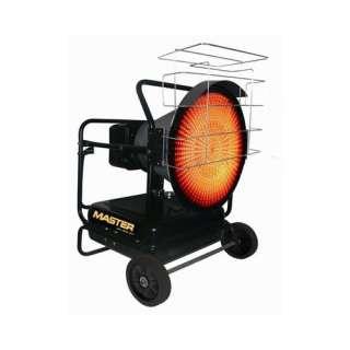 Master 125000 BTU Kerosene Radiant Heater Heating