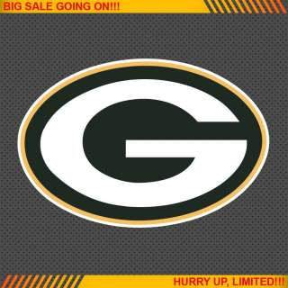 Green Bay Packers NFL Football Logo Car Bumper Window Wall Sticker