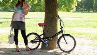 HELLO KITTY Folding Bikes bicycle Rhinestone Black NEW