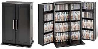 ... 376 CD 332 BluRay 192 DVD Cabinet / Rack W/Lock 2 Color ...