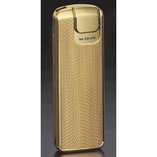Corona Targa Gold Plate Engine Turned Cigarette Lighter