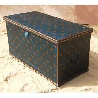 Solid Wood Storage Box Trunk Coffee Table Living Room Furnitur