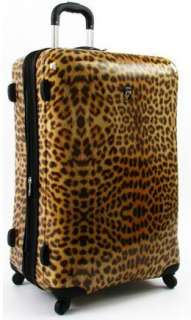 Heys 29 Exotic Spinner Epandable Luggage Case LEOPARD 806126009510