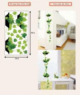 Ivy Vine Decor Mural Sticker Wall Paper Decals SWST 16