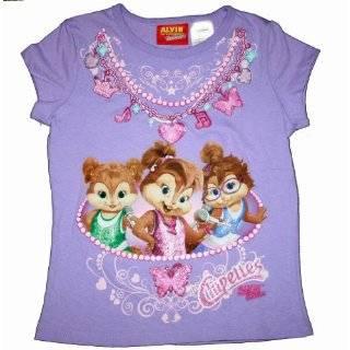 Alvin & the Chipmunks Purple Chipettes T Shirt: Explore similar items