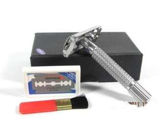 Double Edge Safety Razor TTO Butterfly Opening 788475000861