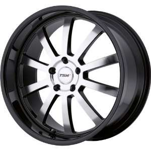TSW Alloy Wheels Willow Gloss Black Wheel with Machined Face (20x10