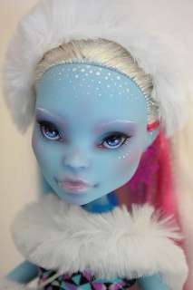 Monster High Doll Abbey Bominable REPAINT (original face up was