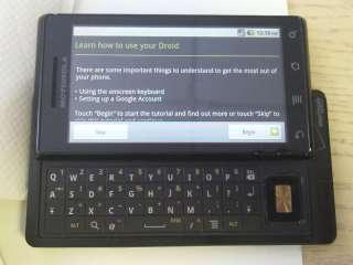 Verizon Motorola Droid A855 GPS Android Touchscreen 733 723755811560