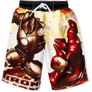 Boys Iron Man Swim Trunks Boys