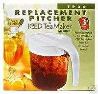 MR. COFFEE 3 quart ICED TEA PITCHER Pot TP30 For TM30
