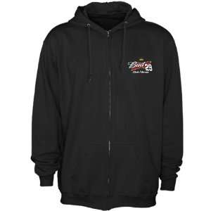 Kevin Harvick Black Finish Line Full Zip Hoodie Sweatshirt (Medium