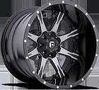 NUTZ D252 Black & Machined 22x12 WHEELS & NITTO TERRA GRAPPLER