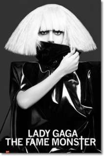 LADY GAGA THE FAME MONSTER LARGE POSTER big hair NEW