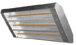 ELECTRIC INFRARED RADIANT HEATER GARAGE SHOP IN/OUTDO