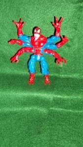 1995 TOY BIZ MARVEL WEB OF SPIDERMAN DOPPLEGANGER FIGURE 5 IN. RARE