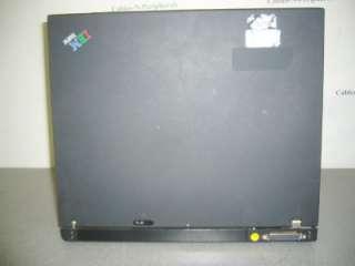 IBM Lenovo T43 Laptop Intel Pentium M 1.86Ghz 1Gb Ram No hard Drive