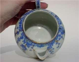 Nippon HP Blue Crane & Birds w/Gold Trim Small Teapot w/Lid
