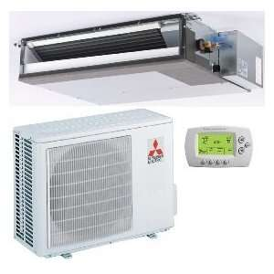 18,000 Btu/h 14.30 Seer Mitsubishi Single Zone Mini Split Air