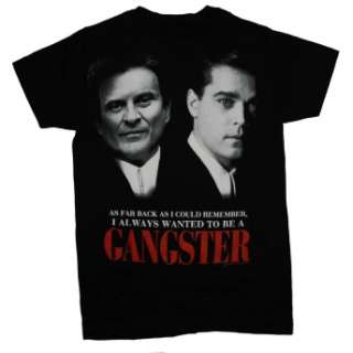 Goodfellas Wanted To Be A Gangster Wise Guys Movie Soft T Shirt Brand