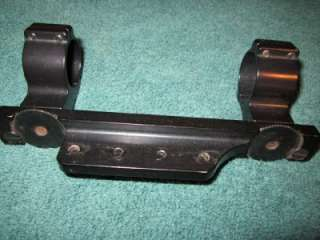 Williams QC 760 40 Mount Scope Mount w/Rings Remington Rifle Shooting