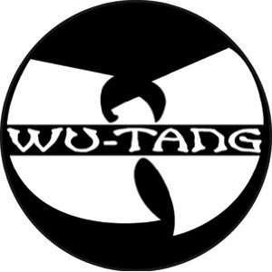 WU TANG CLAN LOGO BUTTON