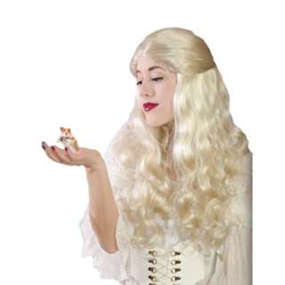 White Queen Wig Halloween Costumes and Accessories