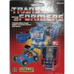 Transformers G1 Autobot Beachcomber 2 inch Figure: Toys & Games